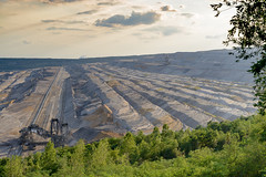 Tagebau Hambach (G_Albrecht) Tags: absetzer bergbau industrie rwe tagebau