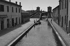 Comacchio (Mauro e Irene) Tags: comacchio ferrara italia italy water acqua emilia emiliaromagna bw biancoenero nikon d3100
