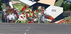 RUSS - KEIM - WOZDAT (Thethe35400) Tags: tag graffiti grafiti graffitis grafit grafite streetart pochoir graff street art artderue arteurbano arturbain arturbà arteurbana urbanart plantilla stencil muralisme schablone stampino mural calle animal animaux panda