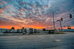 Morning Sky (kendoman26) Tags: hdr nikhdrefexpro2 nikon nikond7100 tokinaatx1228prodx tokina tokina1228 morrisillinois sunrise clouds sky