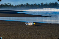 Traveller (bffpicturesworld) Tags: beach savage landscape nopeople traveller ocean volcanic volcanicbeach blacksand reunionisland iledelareunion