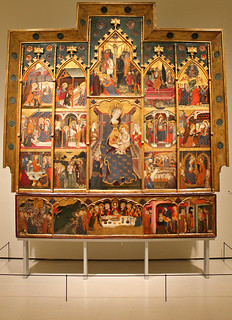 Jaume Serra. Retable of the Mother of God. 1367-81
