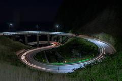 Ulleungdo Taegeuk Trail Road (Quan H KIM) Tags: 야경 태극 도로 울릉도 궤적 대한민국 문양 태하리