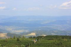 Widok z Góry Pięciu Kopców (magro_kr) Tags: korbielów korbielow polska poland śląskie slaskie beskidżywiecki beskidzywiecki beskidy góry gory przyroda natura widok krajobraz sceneria mountain nature view scenery landscape