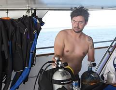 0509a (KnyazevDA) Tags: disability disabled diver diving undersea padi underwater owd redsea buddy handicapped aowd egypt sea wheelchair amputee paraplegia paraplegic travel scuba deptherapy liveaboard safari