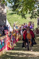Fête médéviale de Larressingle 2017 (Nicolas Rouffiac) Tags: medieval fair fête médiévale chivalry knight chevalerie chevalier chevaliers larressingle cavalier cheval horse rider joute joust