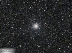 M56 Globular cluster (Sara Wager (www.swagastro.com)) Tags: sarawager astrophotography astro astronomy astrodon astronomia cosmos cosmology constellation deepspace dso deepskydso globular globularcluster m56 interstellar wwwswagastrocom space universe