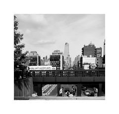 I LOVE NEW YORK 355 (BLANCA GOMEZ) Tags: architecture arquitectura shadows light nyc newyorkcity ny newyork bw blackwhite thehighline elevatedpark bridge viewpoint