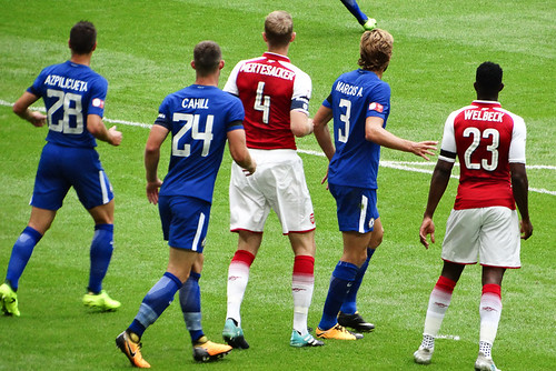 Arsenal 1 Chelsea 1 (4-1 on pens)