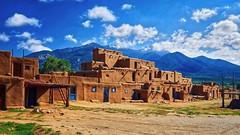 Taos Pueblo, near Taos, New Mexico (MD Phillips) Tags: taospueblo taos newmexico southwest adobe nativeamerican pueblo architecture
