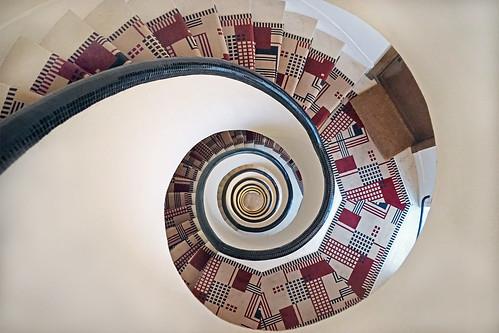 Cage d'escalier de 1929 (Paris)