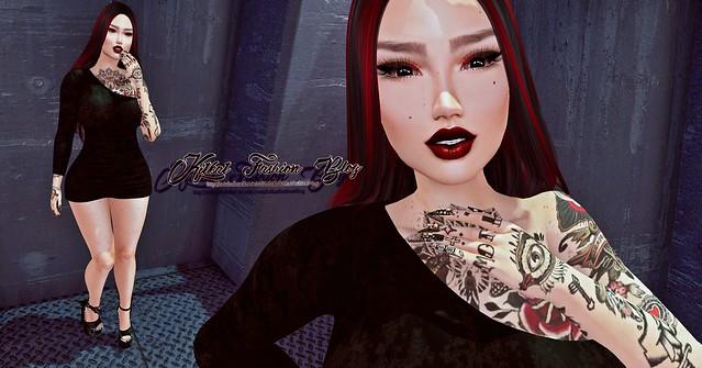 ✎ KitKat Fashion Blog ☑ ♚37♚ ♪ she's a rocker dressed like a killer she's got lips like wine not sugar ♪