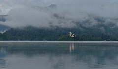 Slovenia - Lake Bled (Harshil.Shah) Tags: lake bled lakebled slovenia europe mist misty cloud morning water reflection church slovénie slowenien eslovenia 斯洛文尼亚 lac see lago jezero slovenija