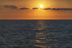 Soon... (petrapetruta) Tags: sea sunset sky horizont infinite sun