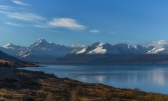 Blue Paradise (Anna Kwa) Tags: statehighway80 peterslookout lakepukaki scenicdrive mountcooknationalpark mountcook 3754meters canterbury southernalps southisland newzealand annakwa nikon d750 afsnikkor24120mmf4ged my paradise dream you me always together forever seeing heart soul throughmylens blueparadise lifetime omm travel world illthinkaboutyou wearemessengers