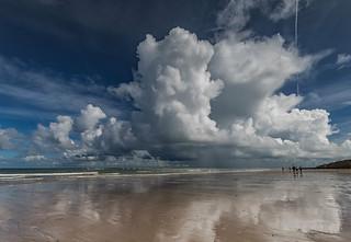 Beach Reflections.