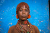 Hamer tribe woman, Dimeka, Omo valley, Ethiopia (berengere.cavalier) Tags: 1people 1person abyssinia adult africa bead beads blackpeople blackskin blue closeup colorful colorfull colourimage culture demeka dimeka earing earings eastafrica ethiopia ethiopian ethiopianethnicity female haircut hairstyle hamar hamer headshot horizontal hornofafrica indigenousculture jewel jewelry lookingatcamera multicoloured necklace necklaces omovalley onepeople oneperson onepersononly onewomanonly outdoor outdoors paintedwall painting portrait smiling southethiopia southofethiopia southernethiopia stand standing style tradition traditional traditionalclothing traditionnal tribal tribe tribeswoman truepeople turmi wall woman women