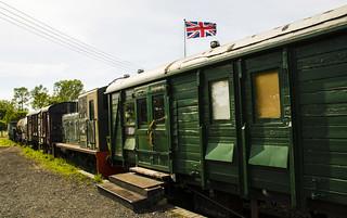 Kent & East Sussex Railway. England.