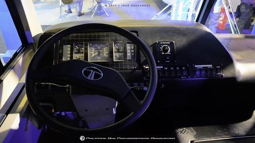 Tata LP 613 Mini Bus - Dashboard
