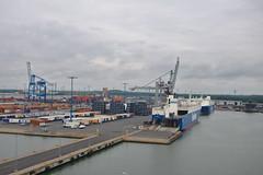 Finnsky in the port of Helsinki (Arnold Metselaar) Tags: zee fietsvakantie haven schip vrachtschip finland oostzee finsegolf