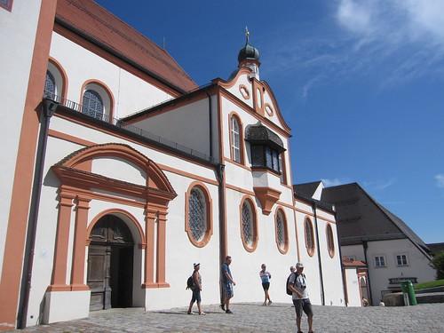 Andechs - Wallfahrtskirche St. Nikolaus und Elisabeth (1423-27)