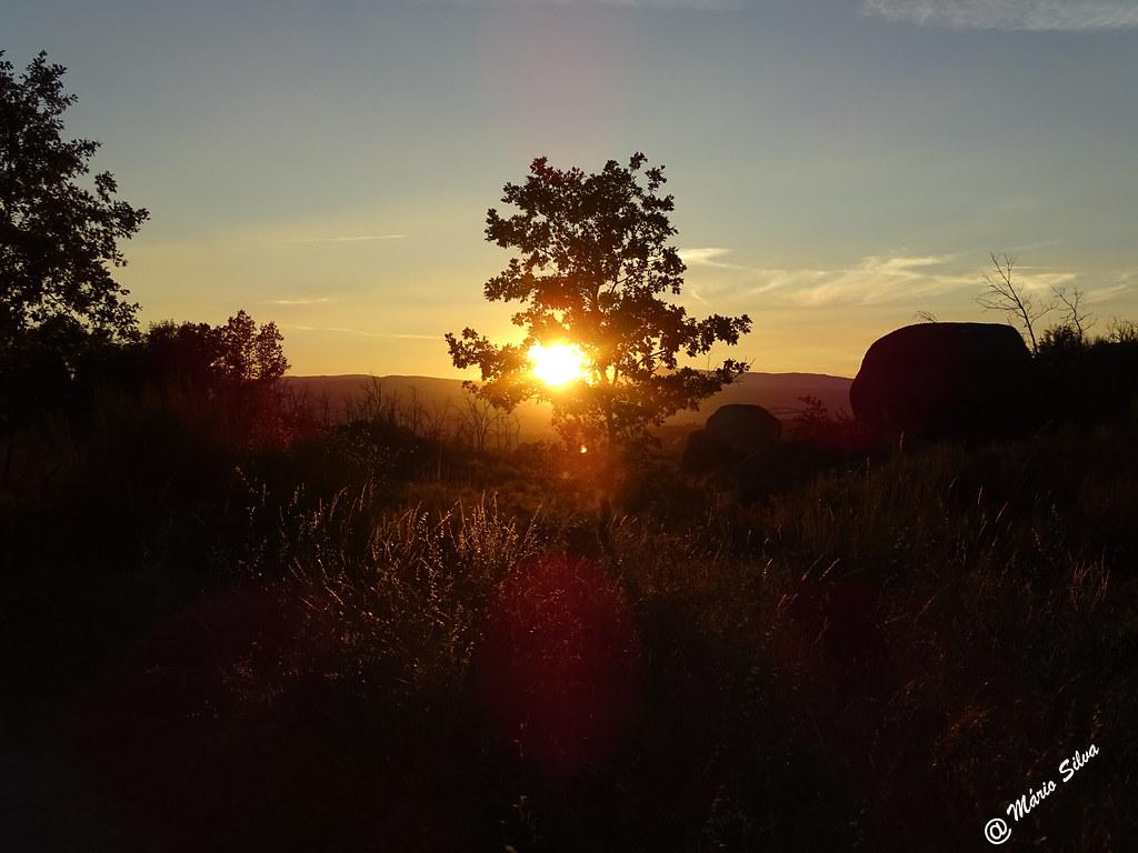 Águas Frias (Chaves) - ... pôr do sol ...