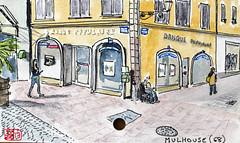 La France des Sous-Préfectures 68 (chando*) Tags: aquarelle watercolor croquis sketch france