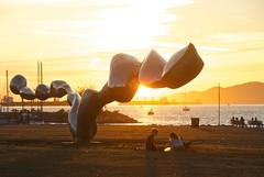 August 20, 2013 (slidefarmer2015) Tags: biennale couples parksvancouver ppcp publicart sculpture sunset vancouver vancouverbc vrpk vrrl2