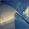 St. Louis Arch (Steve4343) Tags: nikon d70s st louis arch stlouisarch blue sky clouds white silver dark bright steve4343