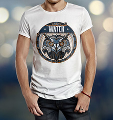 WATCH_TS (D E S I G N - T) Tags: shirt tshirt t front hipster man model white blank male short back clothing guy clothes boy cloth template apparel active casual top fashion posing dress jeans outfit young size cotton design body store teenager background wear shop textile
