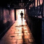 Urban sunset - Dublin, Ireland - Color street photography thumbnail
