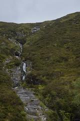 Glencoe (satanpolaroid) Tags: glencoe highlands scotland scottishhills scottish scottishrock mist green waterfall clouds moody clou
