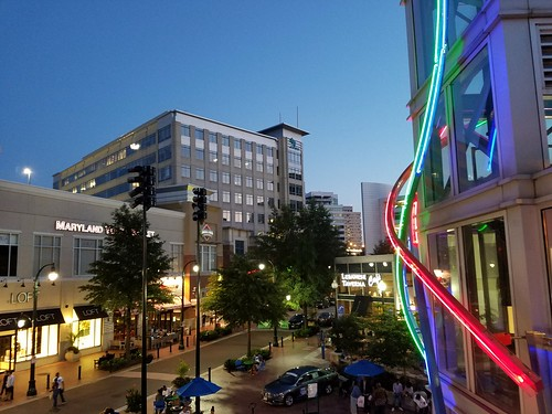 Downtown Silver Spring, MD USA