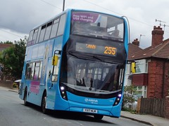Wortley (Andrew Stopford) Tags: yx17nlm adl enviro400 mmc arriva wortley