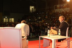 Roberto Vecchioni e Massimo Cirri