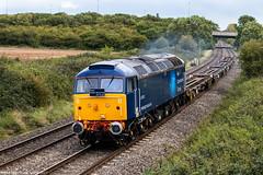 47813 at Norton (6Z86) 14.09.2017 (Wolfie2man) Tags: 47813 class47 duff railoperationsgroup rog norton 6z86