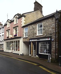 Shops on Main Street, Kirkby Lonsdale (Snapshooter46) Tags: shops mainstreet kirkbylonsdale cumbria buildings stonework