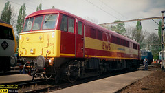 86261 (dave hudspeth photography) Tags: railway train nostalga diesel track transport britishrail iconic davehudspethgrey red blue gner crewe york newcastle