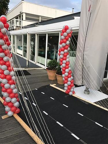 Erasmusbrug van Ballonnen Lommerijk Rotterdam