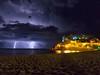 La que se nos viene... (Gargomo ( José Luis )) Tags: epl3 samyang12mmf2 tossademar catalunya tormenta rayos nocturna fsuro