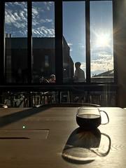 Reflecting on coffee