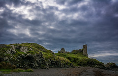 Dunure Castle, South Ayrshire, Scotland (stuartallan38) Tags: iamnikon nikond7100 scottish scotland dunurecastle ayrshire southayrshire castle coastal coast sigma1020 clouds scenery ruins westcoast westscotland colour green