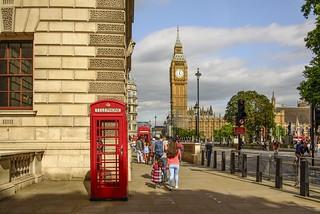 Londra classica...