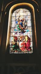 Church in Versailles. Vitraux (freddylyon69) Tags: france souvenirs light vitraux church versailles