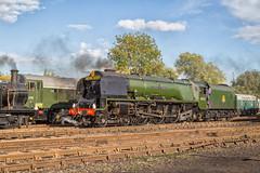 A midland Duchess (Nimbus20) Tags: duchess midland lms britishrail steam smoke train locomotive loco stanier coronation chimney barrowhill chesterfield england heritage tle