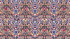 Strawberry Thieves (Don Moyer) Tags: pattern kickstarter moyer donmoyer parody drawing silk
