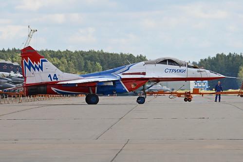 Mikoyan-Gurevich MiG-29UB '14 blue'