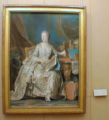 Paris (mademoisellelapiquante) Tags: louvre paris france arthistory art museedulouvre painting madamedepompadour pastels 18thcentury 1700s portrait rococo