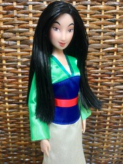 You don't meet a girl like that every dynasty. (honeysuckle jasmine) Tags: barbie doll mulan princess disney