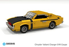 Chrysler Australia Valiant VH Charger E49 Coupe (lego911) Tags: chrysler australia valiant e49 charger coupe vh 1971 1970s classic six auto car moc model miniland lego lego911 ldd render cad povray lugnuts challenge 118 acultfollowing cult following aussie muscle foitsop